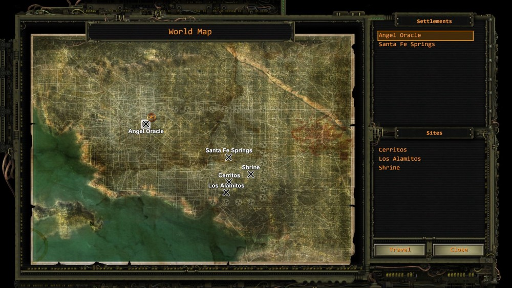 Wasteland 2 starts off in Arizona but you move on to California half way through