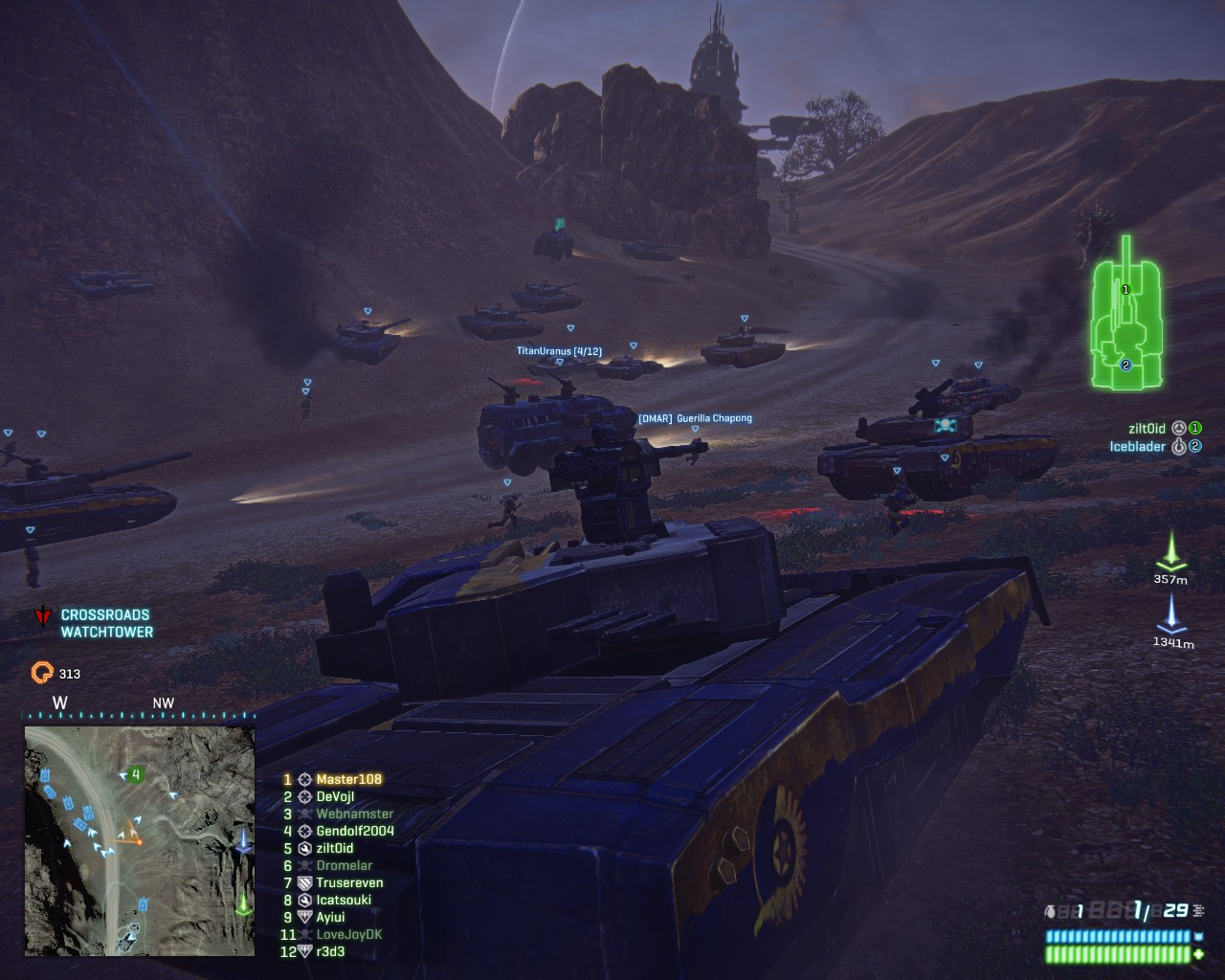 Forget Heavy Assault, this is how you attack enemy tanks.